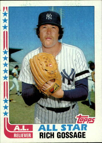 Photo of 1982 Topps #557 Rich Gossage AS