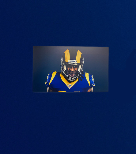 Photo of TODD GURLEY 40X24 METAL CANVAS