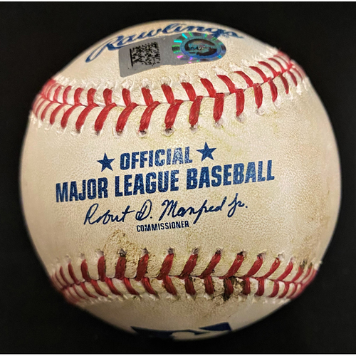 Photo of Game-Used Baseball:  Grayson Greiner Detroit Tigers RBI Double (MLB AUTHENTICATED)