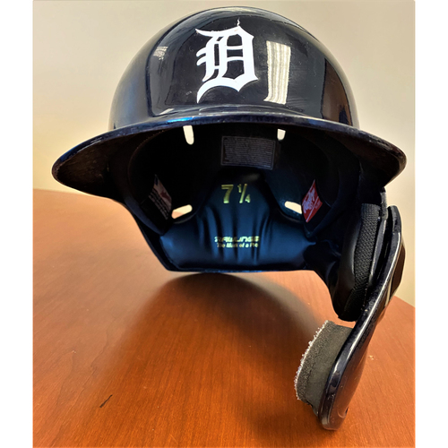 Photo of Daz Cameron #41 Detroit Tigers Rookie Season Game-Used Home Batting Helmet (MLB AUTHENTICATED)
