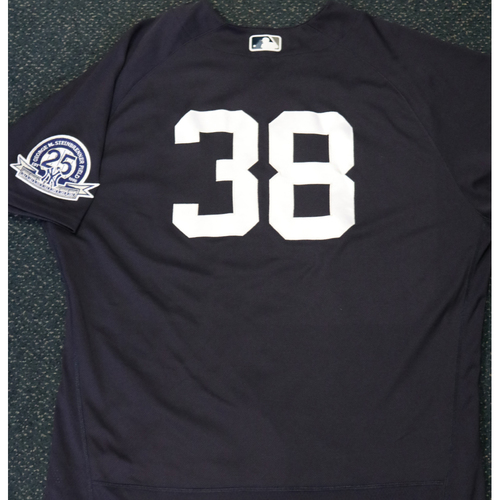 Photo of 2020 Game-Used Spring Training Jersey - Erik Kratz #38 - Size 50