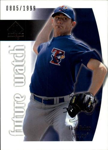 Photo of 2002 SP Authentic #93 Chris Baker FW RC