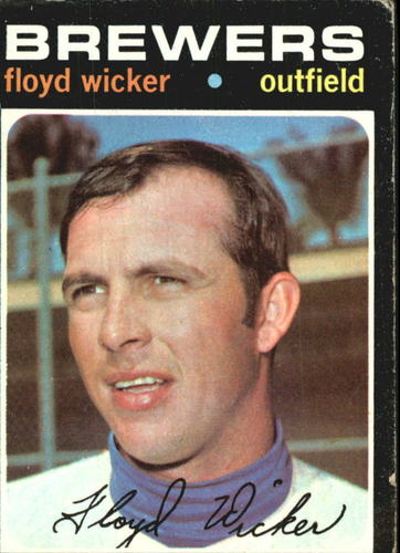 Photo of 1971 Topps #97 Floyd Wicker