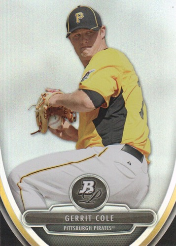 Photo of 2013 Bowman Platinum Prospects  Gerrit Cole