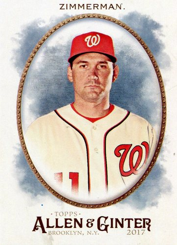 Photo of 2017 Topps Allen and Ginter #228 Ryan Zimmerman