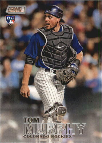 Photo of 2016 Stadium Club #72 Tom Murphy RC