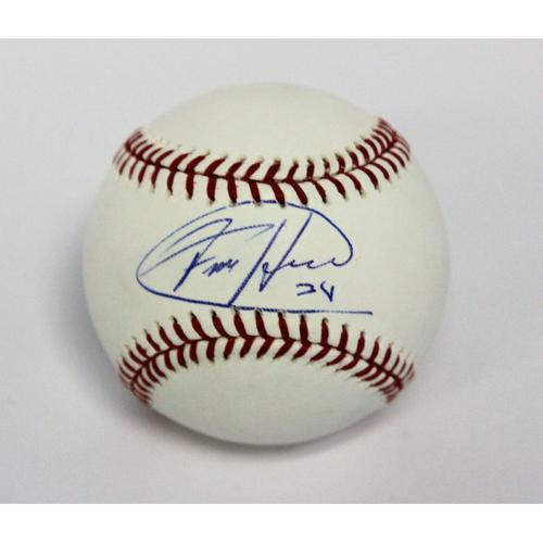 Photo of Felix Hernandez Autographed Baseball