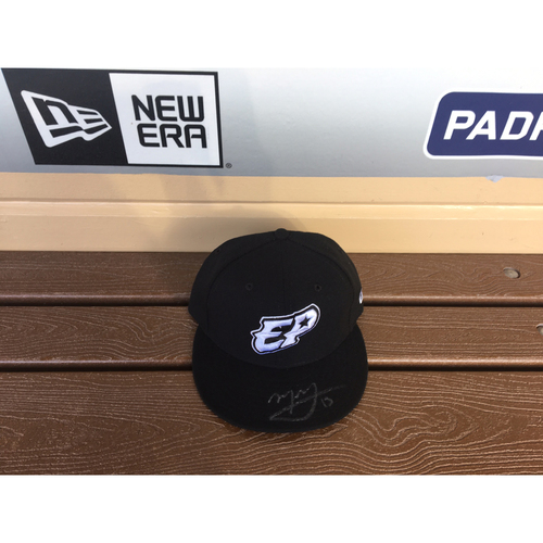 Photo of El Paso Victims Relief Fund Auction San Diego Padres Signed Manny Machado El Paso Chihuahuas Hat