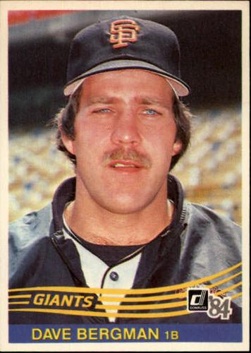 Photo of 1984 Donruss #624 Dave Bergman