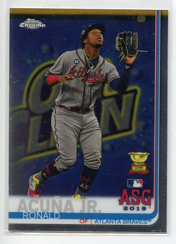 Photo of 2019 Topps Chrome Update #81 Ronald Acuna Jr. AS