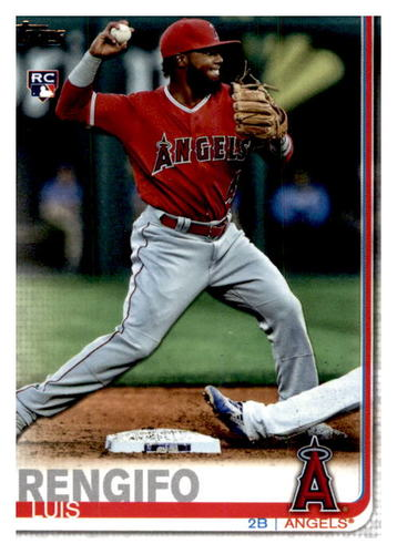 Photo of 2019 Topps Update #US105 Luis Rengifo RC