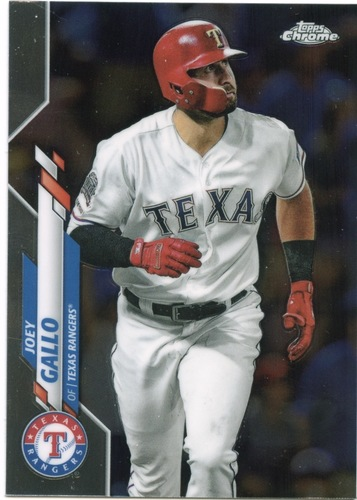 Photo of 2020 Topps Chrome #191 Joey Gallo
