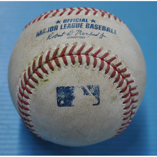 Photo of Game-Used Baseball - 9/24/2020 - CHI @ PIT - Pitcher - Duane Underwood (CHI), Batter - Ke'Bryan Hayes, Bot 7, Single