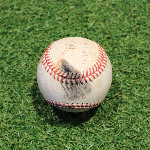 Photo of Game-Used Baseball: Alex Gordon 1,639th Career Hit & 747th Career RBI (PIT @ KC 9/12/20)