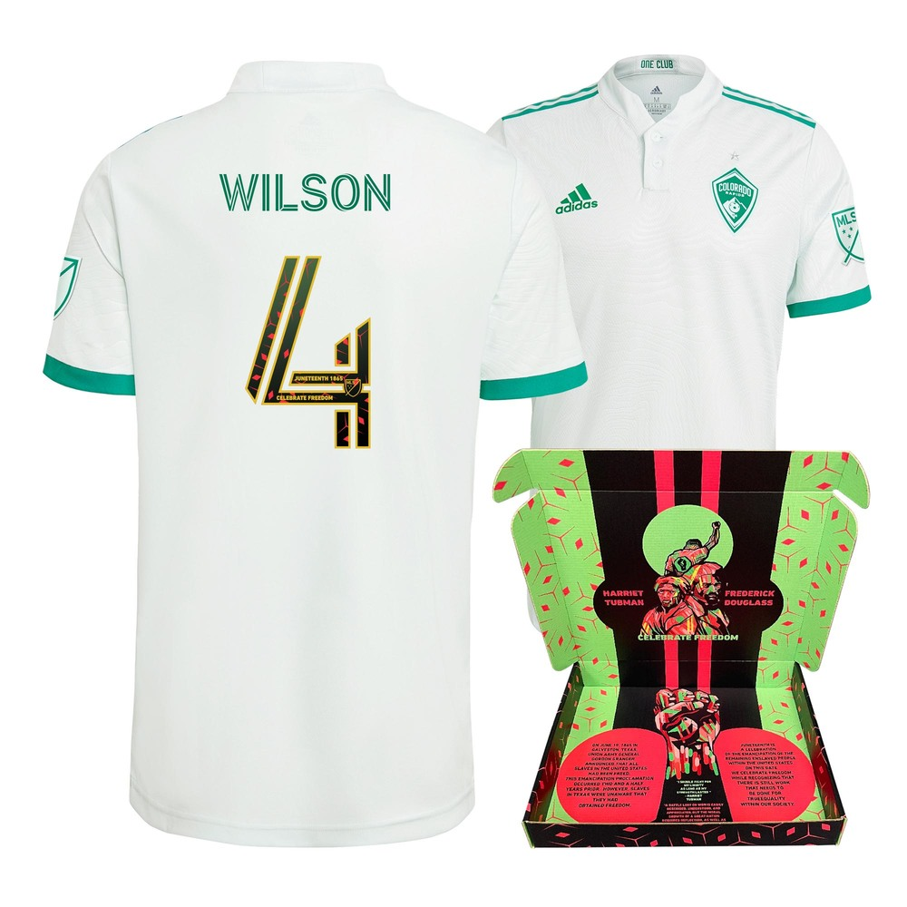 Danny Wilson Colorado Rapids Match-Used & Signed Juneteenth Jersey