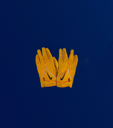 Photo of Kenny Young Game Used Gloves - (9/26/2021 VS. Tampa Bay Bucs)