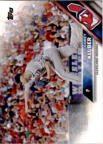 Photo of 2016 Topps #64 Corey Kluber