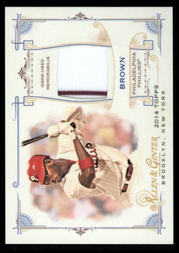 Photo of 2014 Topps Allen and Ginter Relics #FRBDB Domonic Brown B