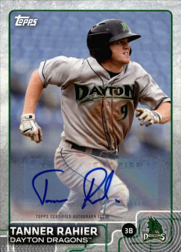 Photo of 2015 Topps Pro Debut Autographs #169 Tanner Rahier
