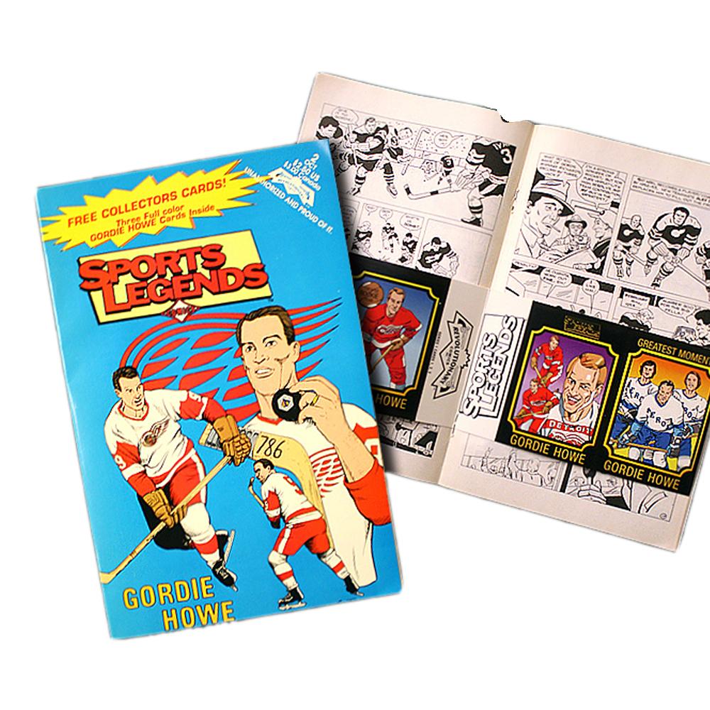 GORDIE HOWE Sports Legends Comics - Detroit Red Wings