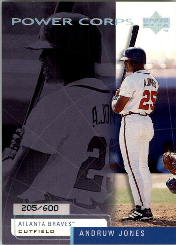 Photo of 1999 Upper Deck Challengers for 70 Challengers Edition #35 Andruw Jones