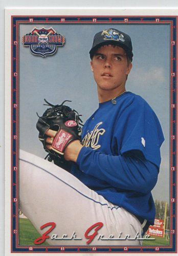 Photo of 2004 Road to the Show Top Prospects Grandstand #11 Zack Greinke