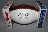 NFL - BROWNS JOE THOMAS SIGNED PANEL BALL