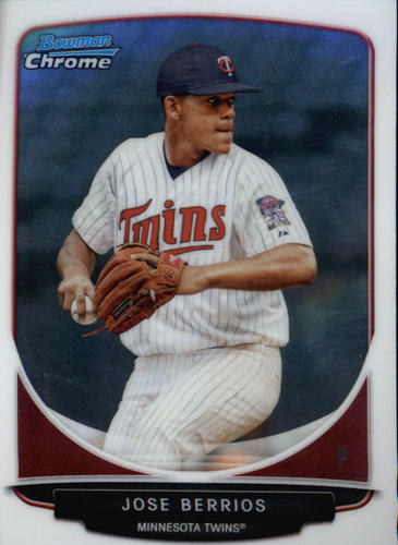 Photo of 2013 Bowman Chrome Prospects #BCP191 Jose Berrios
