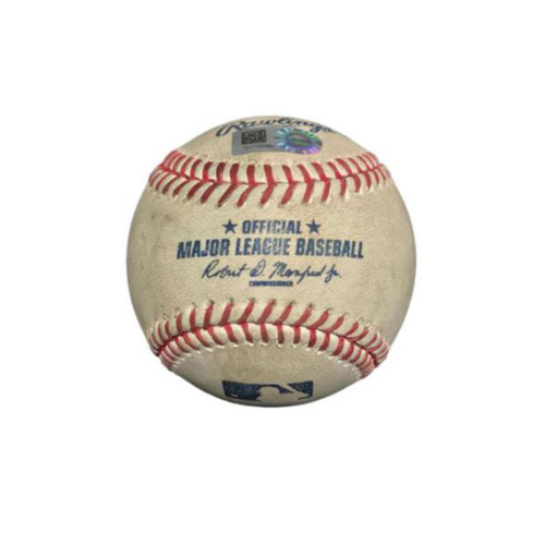 Photo of Game-Used Baseball from Pirates vs. Reds on 4/11/17 - Taillon to Barnhart, Foul