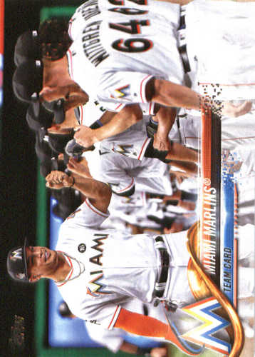 Photo of 2018 Topps #73 Miami Marlins