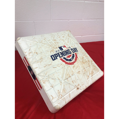 Photo of Game-Used 3rd Base (Innings 1-3) - Opening Day 2018