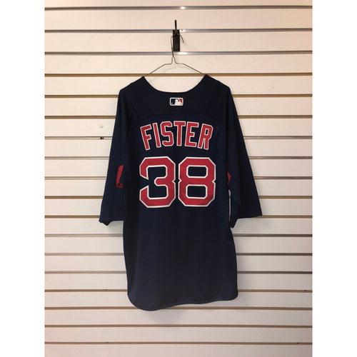 Doug Fister Team-Issued Road Batting Practice Jersey