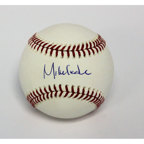 Photo of Mike Leake Autographed Baseball