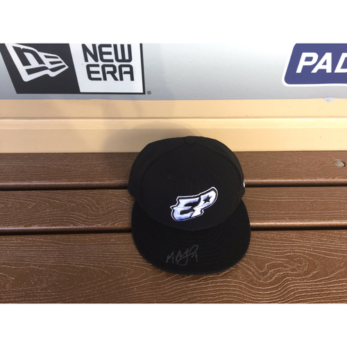 El Paso Victims Relief Fund Auction San Diego Padres Signed Manuel Margot El Paso Chihuahuas Hat