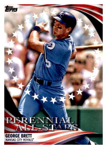 Photo of 2019 Topps Update Perennial All Stars #PAS19 George Brett
