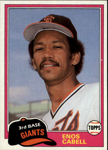 Photo of 1981 Topps Traded #746 Enos Cabell