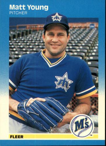 Photo of 1987 Fleer #600 Matt Young
