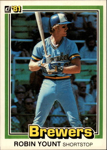 Photo of 1981 Donruss #323 Robin Yount