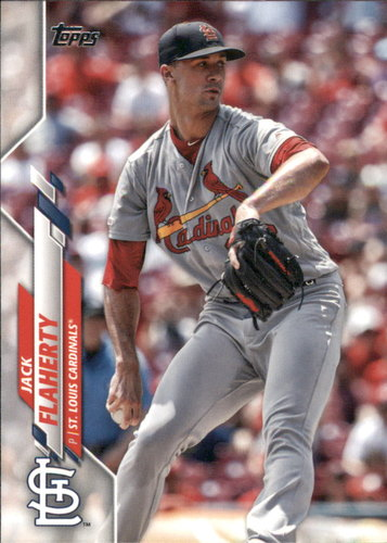 Photo of 2020 Topps #155 Jack Flaherty