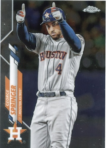 Photo of 2020 Topps Chrome #194 George Springer