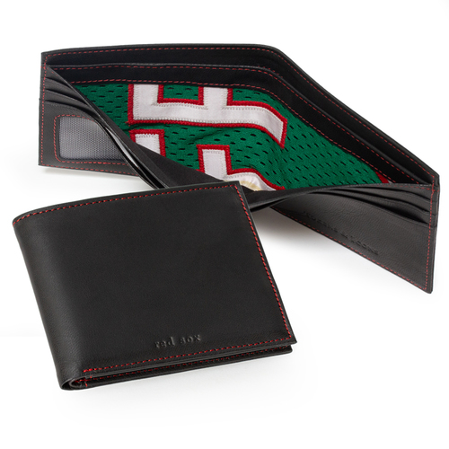 Photo of Tokens & Icons Boston Red Sox Game Used Spring Training Uniform Wallet