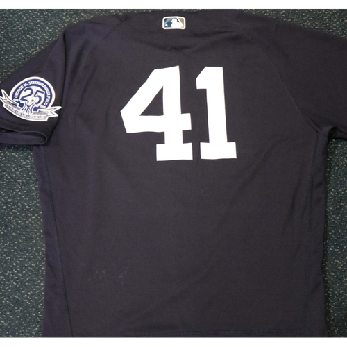 Photo of 2020 Game-Used Spring Training Jersey - Miguel Andujar #41 - Size 44