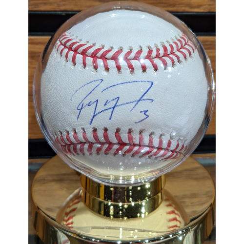 Photo of Jose Peraza #3 Autographed Baseball