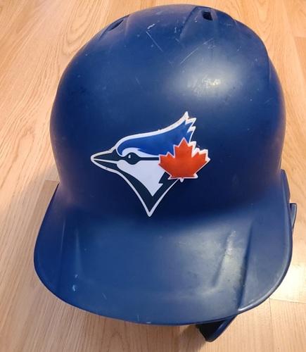 Photo of Authenticated Team Issued Helmet: #27 Vladimir Guerrero Jr. (2021 Season). Size 8.