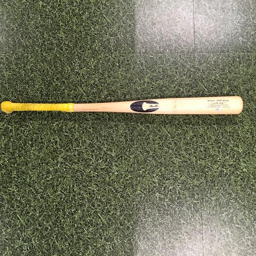 Photo of Kolten Wong 07/28/21 Game-Used Cracked Bat