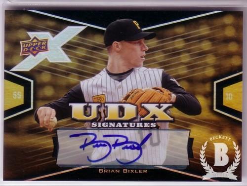 Photo of 2008 Upper Deck X Signatures #BI Brian Bixler