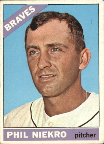 Photo of 1966 Topps #28 Phil Niekro