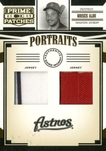 Photo of 2005 Prime Patches Portraits Double Swatch #46 Moises Alou Jsy-Jsy/150