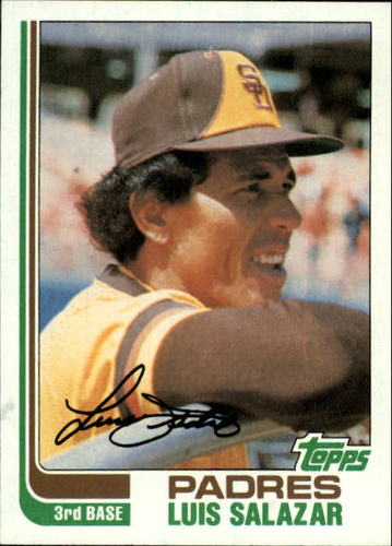 Photo of 1982 Topps #662 Luis Salazar