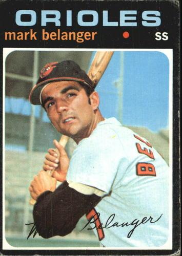 Photo of 1971 Topps #99 Mark Belanger